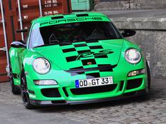 Shooting in Hamburg: Porsche 911 GT3 RS (Generation 997), Foto: Carsten Krome