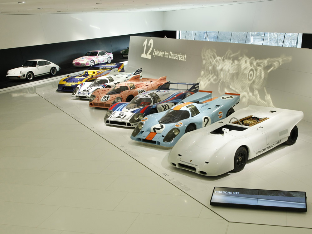 porsche scene top themen le mans legenden porsche museum feiert erste besuchermillion. Black Bedroom Furniture Sets. Home Design Ideas